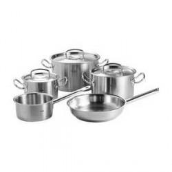 Fissler Original Pro Grydesæt, 5-dele, 3 gryder, kasserolle, stegep.