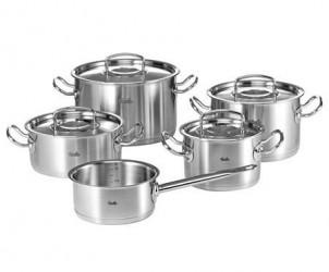 Fissler Original Pro Grydesæt, 5-dele, 4 gryder, kasserolle
