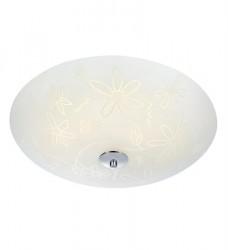 Fleur Loftlampe LED 43 cm White/Chrome