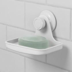 Flex sæbeholder med sugekop til væg
