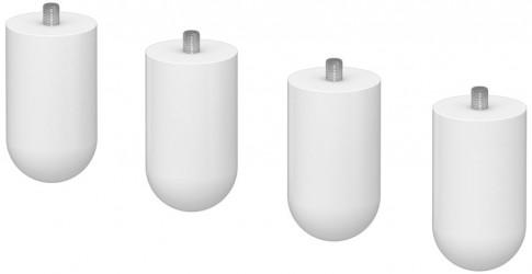 Flexa - Cabby Puslebordsben - Hvid plast
