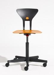 Flexa - Ray Study Kontorstol - Orange