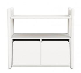 Flexa - Shelfie Mini Reol m/skab - Hvid