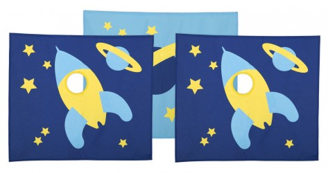Flexa - Space Legeforhæng - Blå