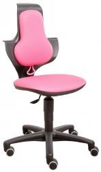 FLEXA - Study Kontorstol - Pink