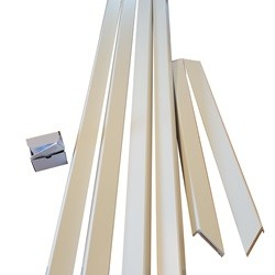 Flexkarm 75-100 mm. glat gerigt - 78,6 x 204,9 cm.