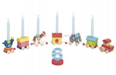 Fødselsdagstog, Cirkus