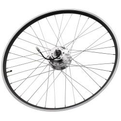 Forhjul med motor