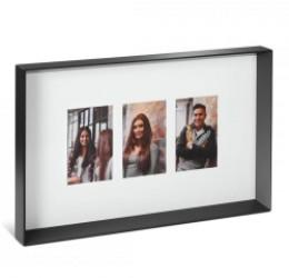 Fotoramme til 3 billeder - 10x15 cm