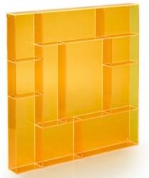 Fox box square sÆttekasse (orange)