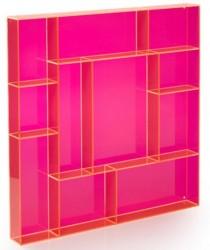 Fox box square sÆttekasse (pink)