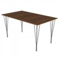 Fritz Hansen B637 Retangulær Spisebord