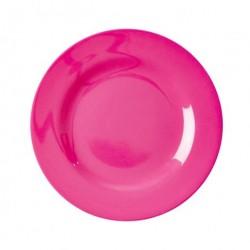 Frokost tallerken (neon pink)