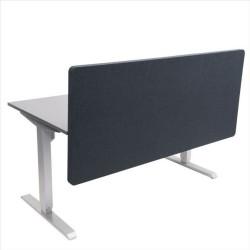 FTI ECO Soft frontskærm - antracitgrå stof, lydabsorberende (160x70)