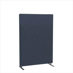FTI ECO Soft skærmvæg - antracitgrå stof, lydabsorberende (100x135)
