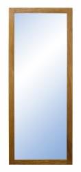 FURBO Nova spejl - natur træ og spejlglas (120x60)