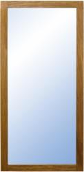 FURBO Nova spejl - natur træ og spejlglas (153x60)
