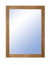 FURBO Nova spejl - natur træ og spejlglas (80x60)
