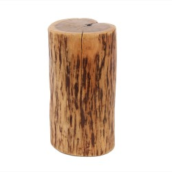 FURBO sofabord, træstamme - massivt akacietræ (Ø 35)