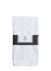 Galzone Håndklæde - 100% bomuld - 400 g - Hvid - L 70,0cm - B 50,0cm - Sleeve - Stk.
