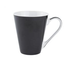 Galzone Krus - Porcelæn - Sort - D 9,0cm - H 10,0cm - 0,30l - Stk.