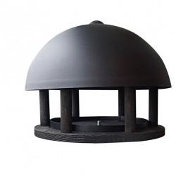 Garden Life - Dome Black fuglefoderhus uden stander
