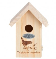 Garden Life - Fuglehus til gærdesmutte H20 cm