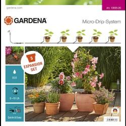 Gardena MDS Flower Pots udvidelse til vandingssystem 13005-20
