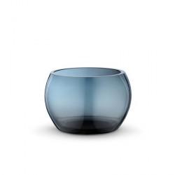 Georg Jensen Cafu Skål Ø17cm Blå Glas