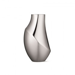 Georg Jensen Flora Vase Medium 23cm Rustfri Stål
