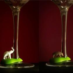 Glas markør - varme dyr