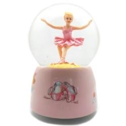 Glimmerkugle med balletdanser