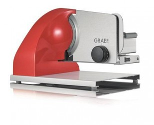 Graef Sliced Kitchen 903, Skæremaskine 19 cm, Rød