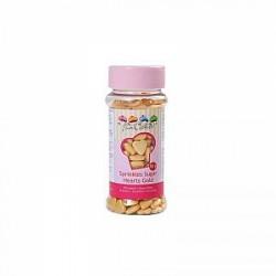 Gram Krymmel hjerter guld - 80 gram