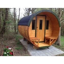 Greenwell Sauna Ø190 x 300 cm.