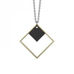 Grundled Indirekte Objekt Necklace Antique Gold