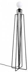Grupa Products Model M1 gulvlampe ? Sort/grå