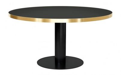 GUBI - 2.0 Spisebord - Grå Glas - Ø125
