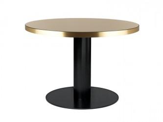 GUBI - 2.0 Spisebord - Sand Glas - Ø110