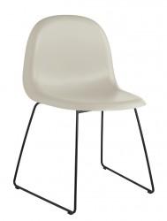 GUBI - 3D Spisebordsstol - Grå