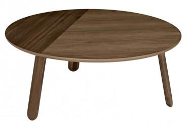 GUBI - Paper Lounge bord Valnød - Ø80