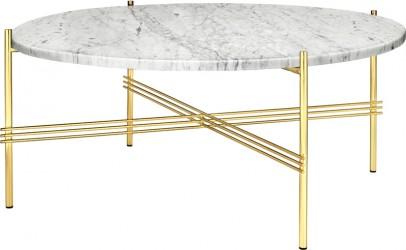 GUBI - TS Lounge bord hvid marmor - Ø80