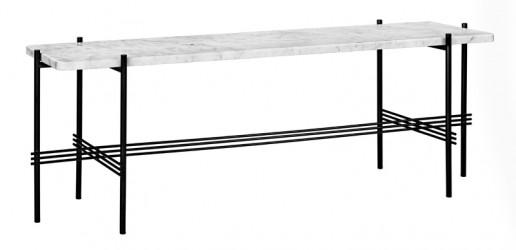 GUBI - TS1 Consol Rectangulaire - Hvid marmor