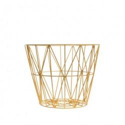 Gul wire basket (lille)