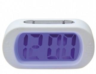 Gummi alarm ur (hvid)