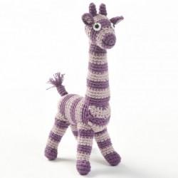 HÆklet dyr (lilla giraf)