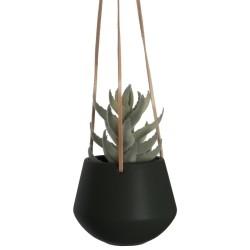 Hængende potte i sort - small