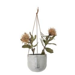 Hængende urtepotte med ansigt - Bloomingville