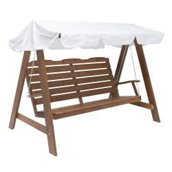 Hængesofa - Molly - Kanel/hvid
