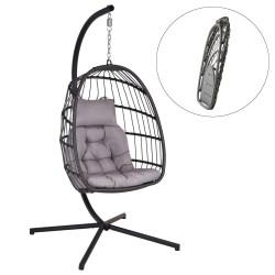 Hængestol på stativ - Antracit